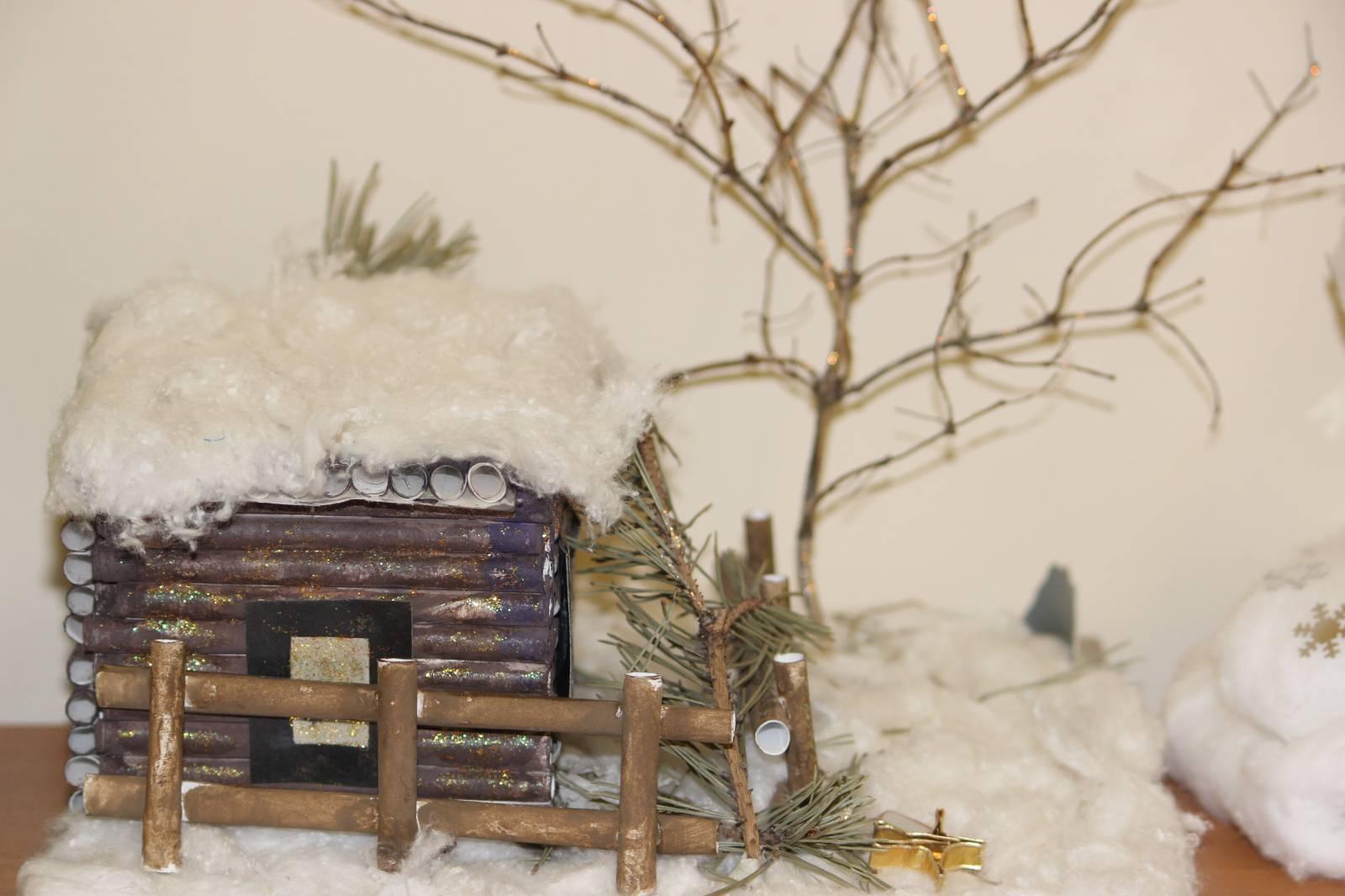 Поделки для зимнего леса